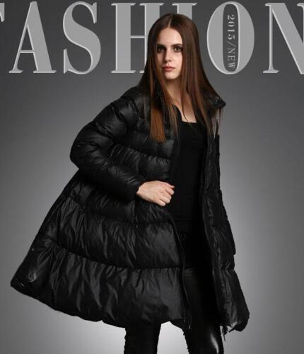 Collar A Women Overcoat G16 New Coats Down Cape line Puffer Jackets Stand Dress dXHHA6q