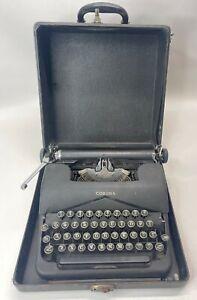 Vintage 1940s LC Smith Corona Model 043-B Standard Typewriter