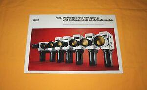 Braun-Nizo-1973-Katalog-Prospekt-Brochure-Prospetto-Depliant-Catalog-Prospect