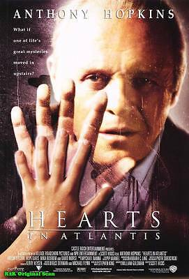 100% QualitäT Filmposter ~ Hearts In Atlantis 2001 68.6x102cm Original Folie Anthony Hopkins
