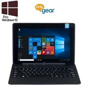 "eduGear Semi Rugged 10.1"" IPS Tablet with Keyboard (Intel Quad Core, 64GB, 4GB)"