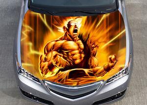Product Anime Dragon Ball Dragon Ball Z Goku Super Saiyan 4 Rear Window Decal Sticker Pick Up Truck Suv Car Any Size