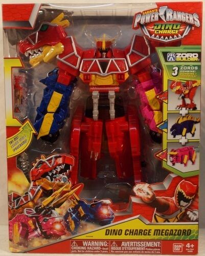 Power Rangers Dino Charge Megazord (3 Zords Combine) Zord Builder Super MISB
