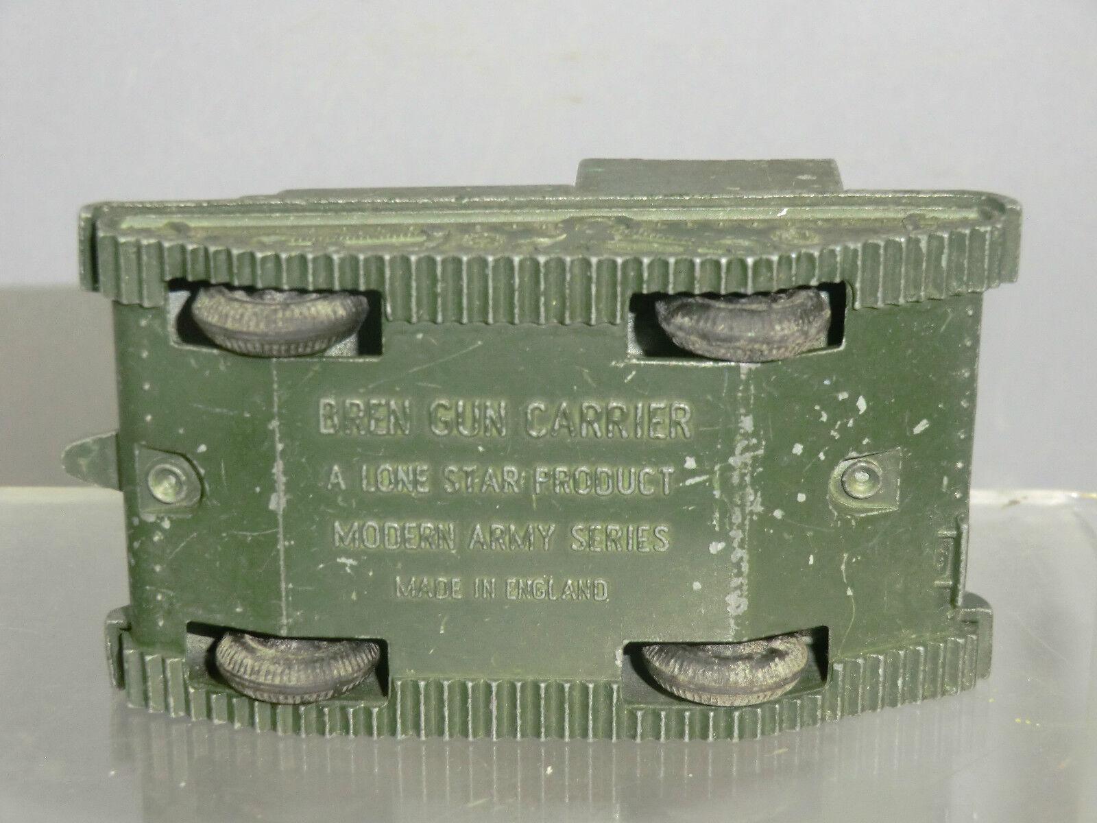 VINTAGE VINTAGE VINTAGE LONE STAR MODEL No.1279  BRITISH ARMY  BREN GUN CARRIER  (GREEN VERSION) 41728c