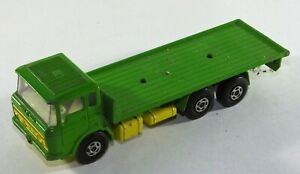 Matchbox-Super-Kings-K-13-20-DAF-camion-Lesney-Diecast-Verde-y-Amarillo-A12