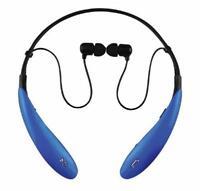 9811414c675 Supersonic Blue Bluetooth Neckband Headphones Smartphone Mic Built-in  Controls