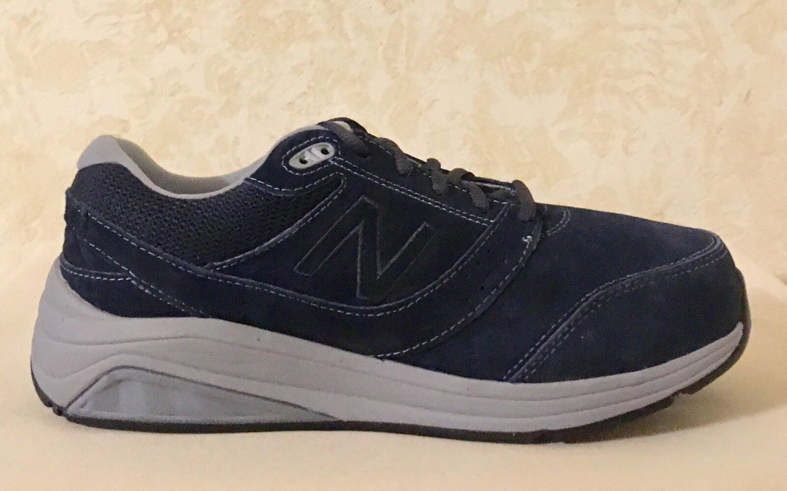 Women New Balance Athletic comfort Shoes Suede Steel (Navy) gray D WW928NV2