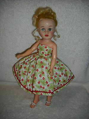 NEW QUALITY MADE Vintage Repro Dress For 10.5 Little Miss Revlon or Jill by OTM