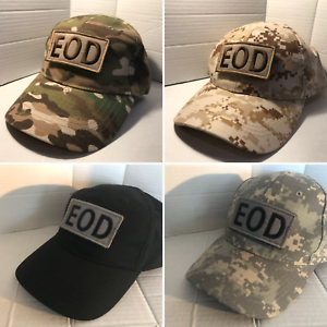 EOD IED UXB Operator Navy Diver Military Baseball cap camo Embroidered Patch