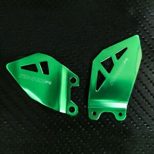 For Kawasaki ZX-14 Ninja ZX-14R 2006-2017 Aluminum Foot Pedal Heel Guard Plates