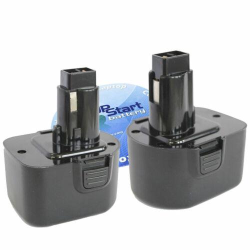 12V, NICD, 1300mAh 2-Pack DeWalt DC9071 Battery