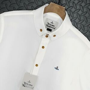 Mens Vivienne Westwood Premium Regular Fit White Shirt Size It 52 Xl Uk 42 44 Ebay