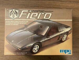 MPC Pontiac Fiero Car 1/25 Scale Model Kit - New Sealed Vintage Q-10715