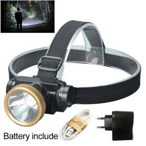 Sensor Q5 LED Headlamp Camping frontal head torche 18650 AAA Headlight