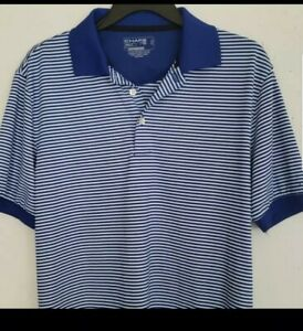 CHAPS-MENS-STRIPED-POLO-SHIRT-SHORT-SLEEVE-100-COTTON