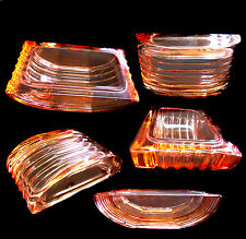 Vecchio contenitore decó in vetro di murano  cm 12x7 h 3,5