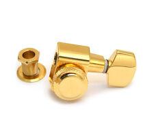 (1) Genuine Fender Schaller Gold Locking E/B/G Strat/Tele Tuner 003-8966-000