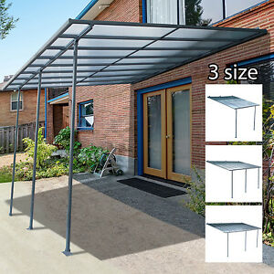 Outdoor Wall Mounted Door Awning Patio Canopy Cover Sun ...