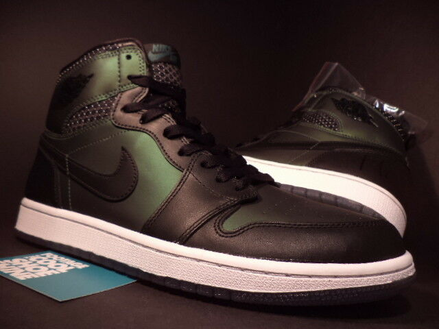 2014 Nike Air Jordan I Retro 1 SB QS BLACK SILVER WHITE GREEN 653532-001 NEW 8