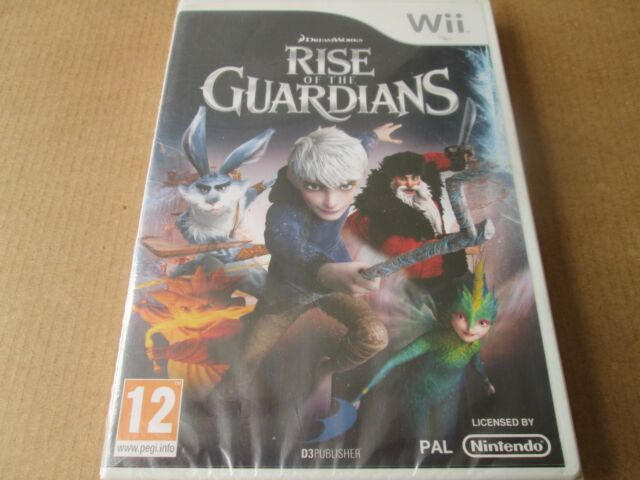 Rise of the Guardians (Nintendo Wii, 2012)  NEW AND SEALED PAL