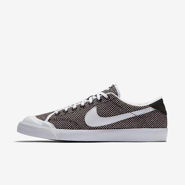 Nike klassisches schuhe gericht uk Größe 8,5 männer - trainer schuhe klassisches schwarz - weiß - tennis 6dedc3