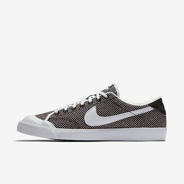 ba0766433df Nike Classic All Court 2 Low UK Size 8.5 EUR 43 Men s Trainers Shoes Black  White
