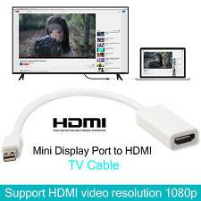 MINI Display Port a HDMI HD TV CAVO ADATTATORE PER MACBOOK PRO APPLE MAC REGNO UNITO