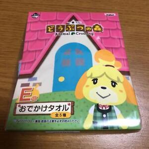 Animal-Crossing-Shizue-Ichiban-kuji-Banpresto-Towel-DOUBUTU-NO-MORI-A