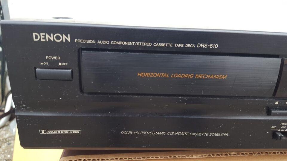 Båndoptager, Denon, DRS-610