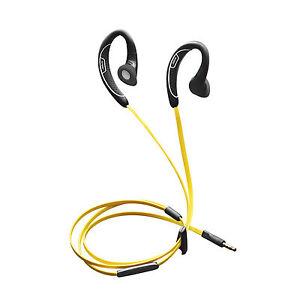 26e4b894f41 Jabra Sport - Corded Black/Yellow Ear-Hook Headsets for sale online | eBay