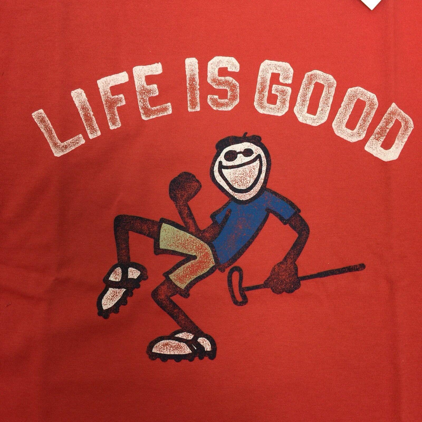 Life is Good B Ss Boys Tee La Vida ES Buena Amrred T-Shirt,