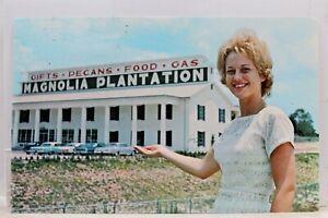Georgia GA Rifton Magnolia Plantation Postcard Old Vintage ...