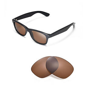 d0b4580199b Image is loading Walleva-Polarized-Brown-Lenses-For-Ray-Ban-Wayfarer-
