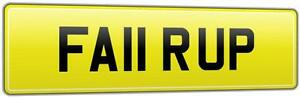 REG-NUMBER-PLATE-FA11-RUP-FOR-FAIR-SHOWMANS-LORRY-HGV-FAIRGROUND-RIDE-OPERATOR