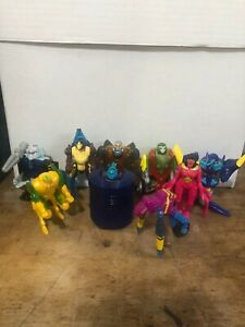 Transformers Beast Machines McDonalds Happy meal lot of 9 perfect condition!