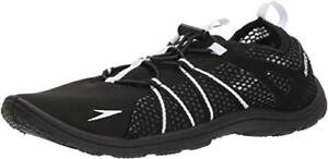 NWT-Speedo-Seaside-Lace-Womens-Water-Beach-Shoes-Black-White-11