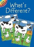 What's Different?, Children Activity Books Educational Learning Puzzles on Sale