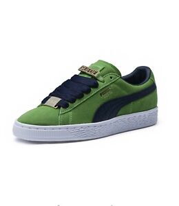 6b5358fb Details about Puma Suede Classic Bboy Fabulous Sneakers - Green - Mens Size  10.5 365262 03