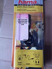 HEADPHONE MUSIC ADAPTOR FOR SAMSUNG SGH-D900 D520 D800 D820 P300 Hama 89554
