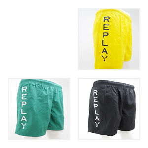 huge selection of 52606 5ef56 Dettagli su REPLAY Costumi da bagno Pantaloncini Costume Swimming Truka UVP  69,99 € * - qui con noi per 29,99 €- mostra il titolo originale