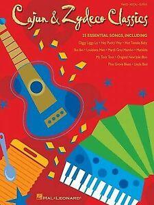 Cajun & Zydeco Classics Sheet Music Piano Vocal Guitar Songbook 000310806