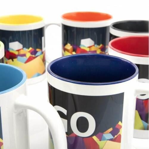 """Tasse /""""Juli/"""" ab 60 St mit Ihrem Logo Bedruckung Aufdruck Werbung NEU OVP"""