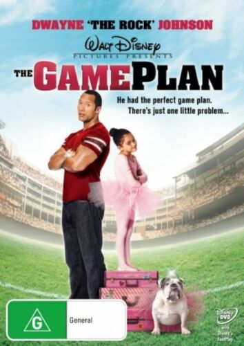 1 of 1 - The Game Plan (DVD, 2008) (D175)