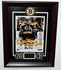 Brad Marchand Torey Krug Boston Bruins signed autographed framed 8x10