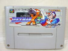 Super Famicom ROCKMAN X3 Megaman Nintendo Video Game Cartridge Only sfc
