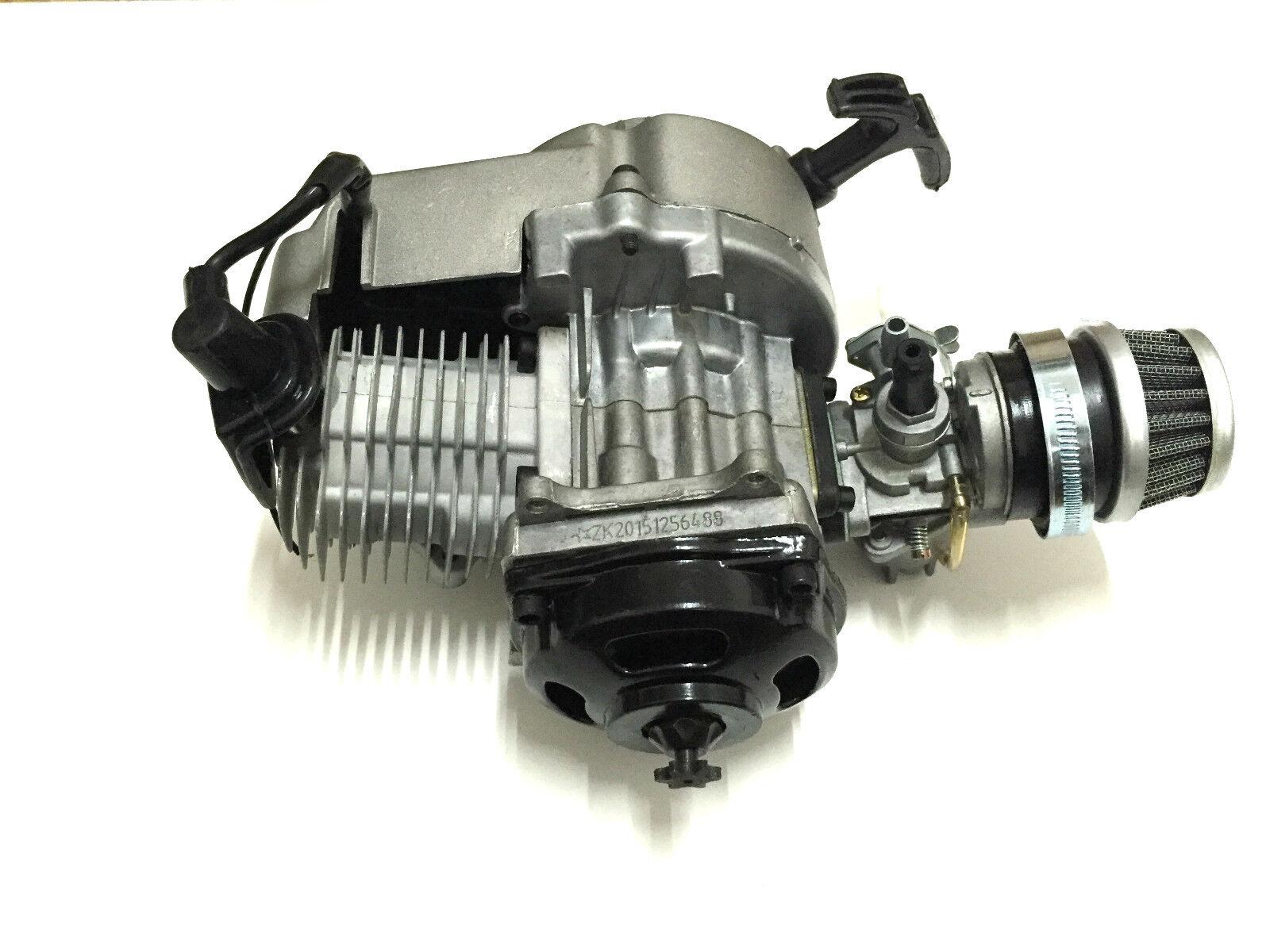 Tuning Motor 60cc Dirt Fahrrad Cross PocketFahrrad Kinderquad Mini Zylinder Vergaser