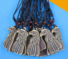 Wholesale 12 pcs cool eagle pendant necklace W135