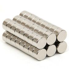 50 tlg Runder Starke Neodym Magnete NdFeB N52 Pinnwand Büro Magnet 5mm x 3mm