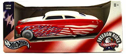 LIMITED EDITION Hot Wheels 1 24 49 Marcury RED White Scale 1 24  from JAPAN F S