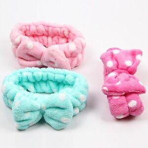 "Fuchsia Pink super extra 4.25/"" wide soft stretch elastic headband hair head band"